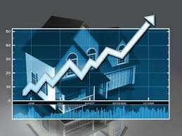 2014 shows an increase in home values.